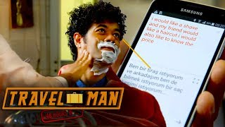 Richard Orders A Shave With Google Translate | 48hrs In...Istanbul