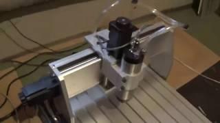 фрезерный гравер станок чпу CNC 6040 4 оси с алиэкспресс  Китайcnc machinemilling