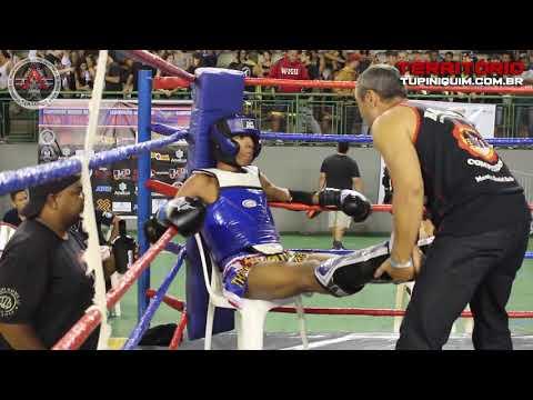 Thiago Vs Bernardo - Campeonato Mineiro De Muay Thai 2018