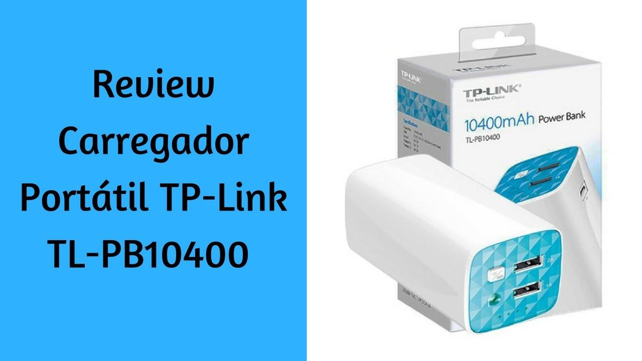 Review do Carregador Portátil TP-Link TL-PB10400 - YouTube
