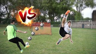 KRANKE VOLLEY FUßBALL CHALLENGE vs BRUDER!!