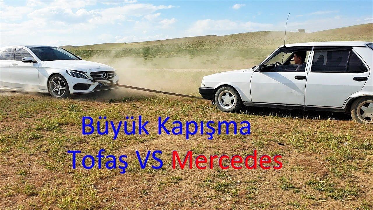 !BÜYÜK KAPIŞMA!  Tofaş Ve Mercedesi Kapıştırdık (Hangisi Yener?)