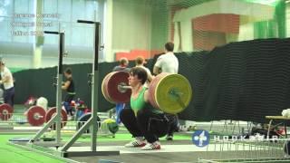 Clarence Kennedy 200kg x5 Back Squat Tallinn Sept 2013