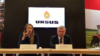 Ursus na targach Agrotech 2018 – nowe ciągniki i nowe silniki