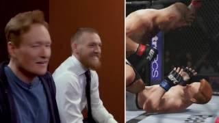 Conan O'Brien got his ass whooped by Conor McGregor