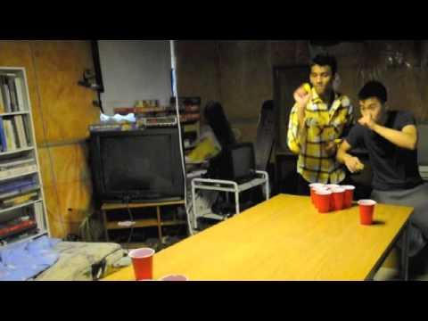 Beer Pong Trailer