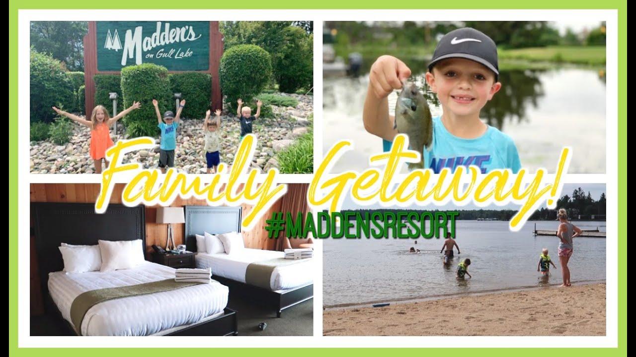 FAMILY WEEKEND GETAWAY! | MADDEN'S RESORT 2020