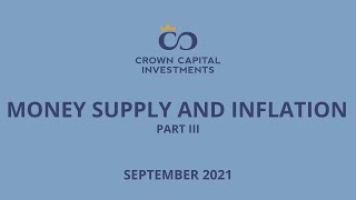 Money Supply and Inflation Part III