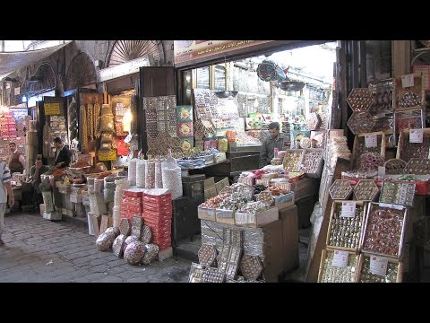 Bazaar in Damascus