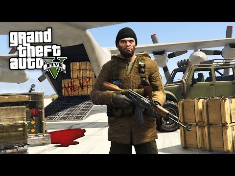 GTA 5 Zombie Apocalypse Mod #14 - RAIDING  SUPPLY DROPS!! (GTA 5 Mods)