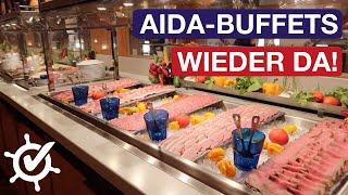 Erste AIDA-Schiffe wieder mit Buffet ⚓️ AIDA entlässt beim Entertainment — Kreuzfahrt Update 30.7.21