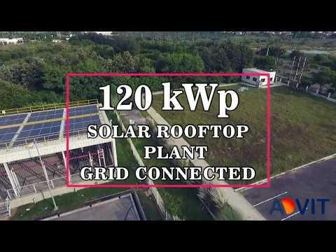 Advit Ventures Solar Plant Automotive MNC 120 kWp    Solar PV Plant EPC Experts Delhi