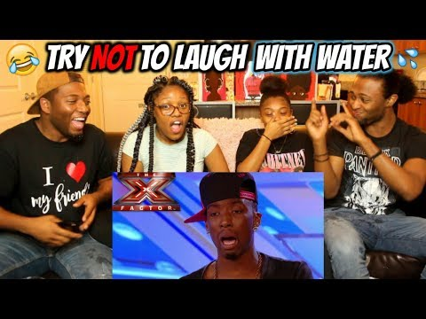 X Factor Try Not To Laugh/Cringe (IMPOSSIBLE!!) (REACTION)