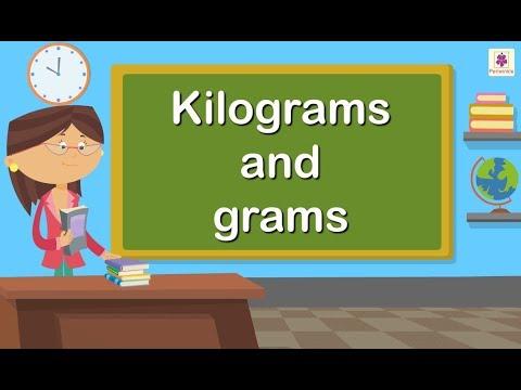 Kilograms and Grams | Maths for Kids | Grade 4 | Periwinkle