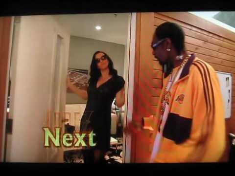 Annie Wersching dances with Snoop Dogg