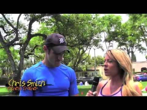 Tara Phillips  Chris Smith  Fitness Training
