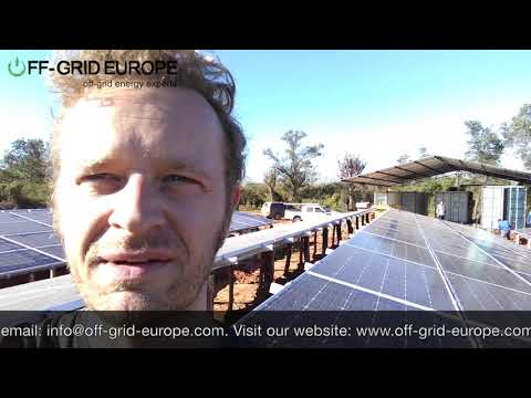Off-Grid Europe Power Container in Paraguay