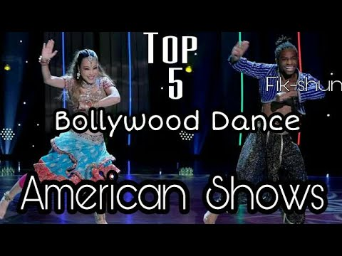 Top 5 Bollywood Dance by Foreigners - Indian Dance in American Shows