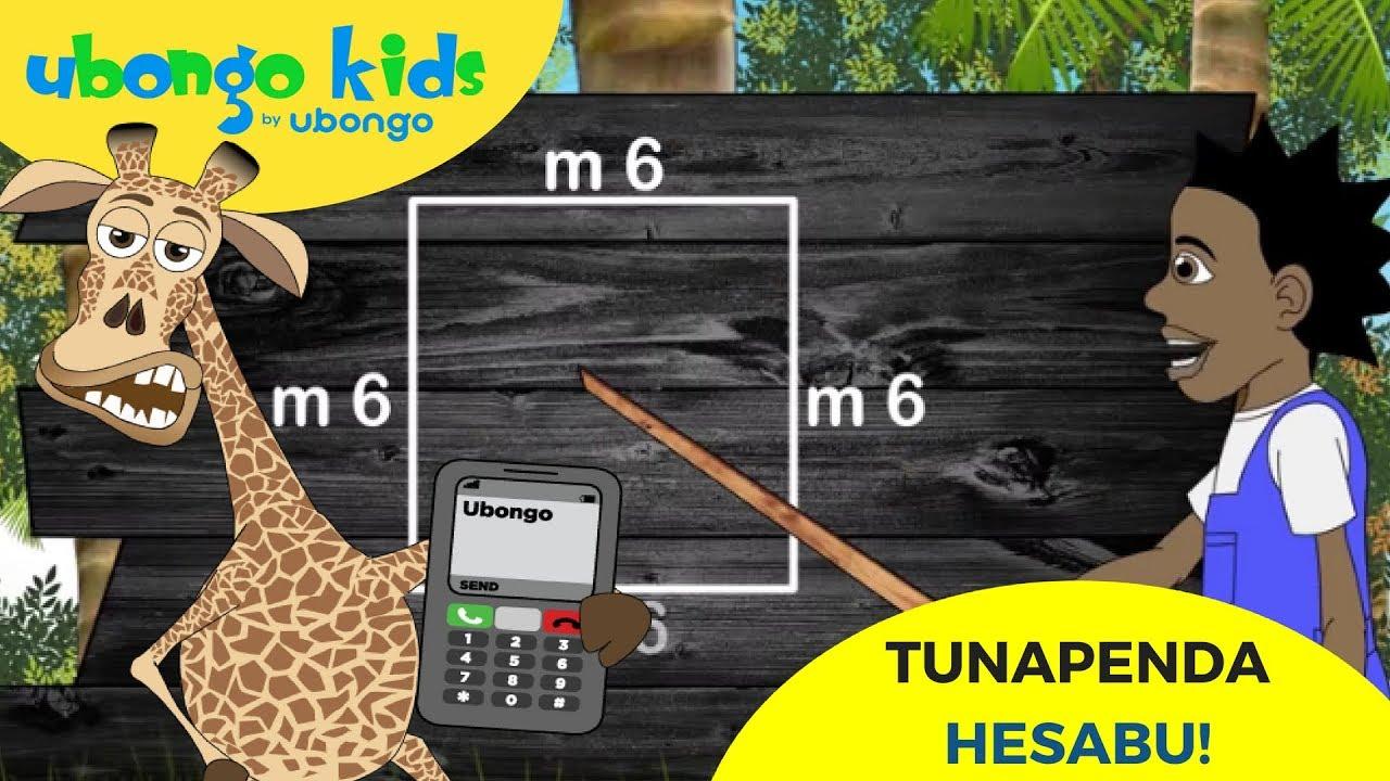 We Love Mathematics | Ubongo Kids | African Educational Cartoons