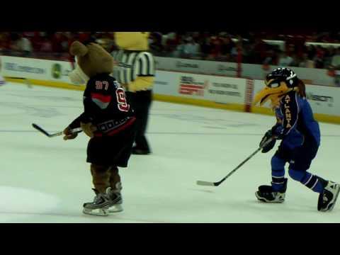 Stormy's Birthday Party, Mascot Hockey at the RBC Center