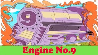 Engine No 9 - Popular English Nursery Rhyme With Lyrics.