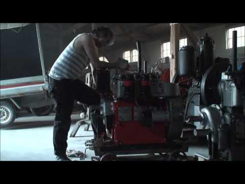 My good Armstrong Siddeley AS3 diesel engine