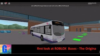first look at ROBLOX Buses - The Original By Honeymoon_Arianator with the route 97 Volvo eclipse