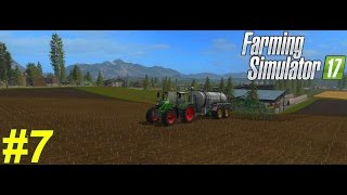 Farming Simulator 2017 - Carrière suivi - épisode 7 - Le Lisier