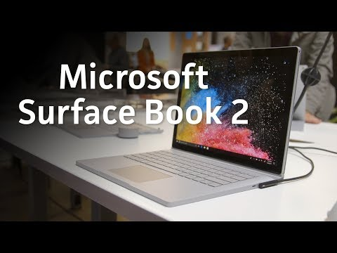 Surface Book 2 Hands-On: Faster CPUs, discrete GPUs and style to spare
