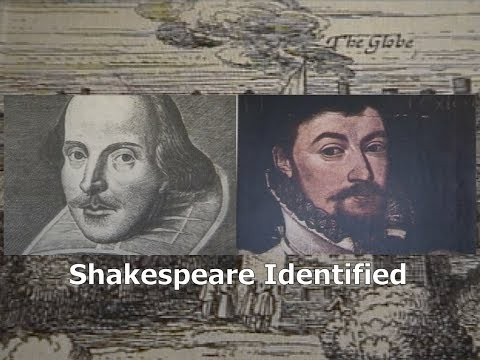 Shakespeare Identified Lecture, Mike A'Dair And William J. Ray. Indexed in Description.