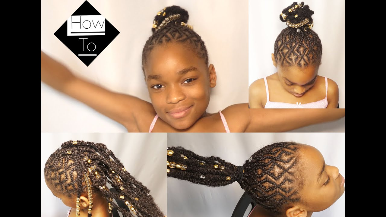 How to ADD extensions, beads and hair jewellery. GOLDEN CHILD