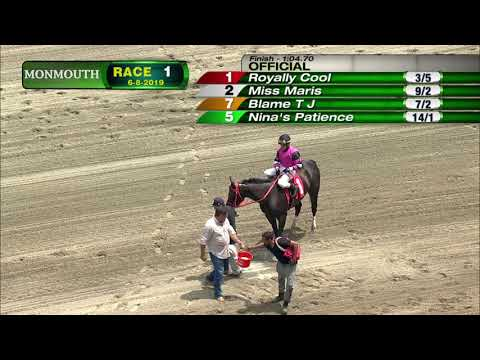 video thumbnail for MONMOUTH PARK 6-8-19 RACE 1