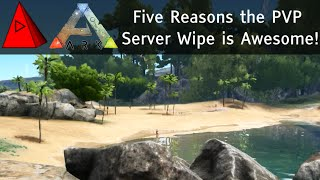 Top 5 Reasons the Ark: Survival Evolved PvP Server Wipe is AWESOME - Patch 178.0 PvP Server Wipe