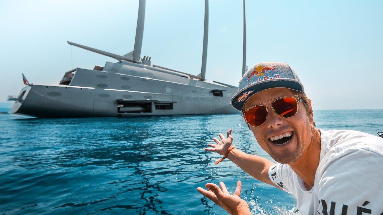 the billion dollar yacht show of the monaco gp vlog 26 youtube