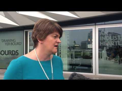 Arlene Foster on Ombudsman report on Loughinisland