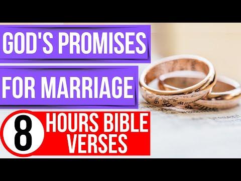 Marriage Bible Verses & God's Promises (Encouraging Bible Verses For Sleep)
