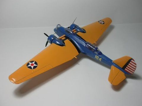 Williams Brothers 1/72 Martin B-10 - USAAC interwar bomber