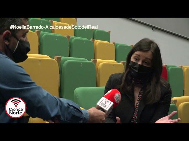 Entrevista Alcaldesa de Soto del Real Noelia Barrado