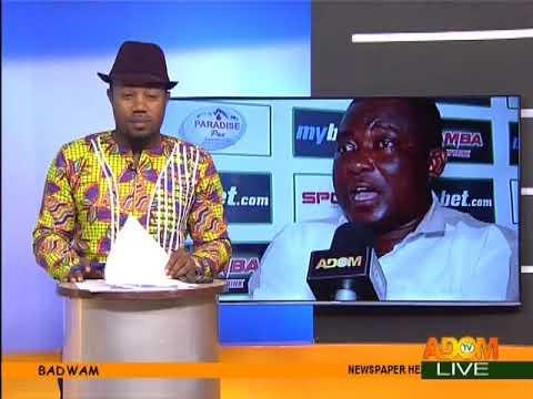 Badwam Sports on Adom TV (15-2-18)