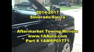 2014 - 2017 Silverado/Sierra:  Aftermarket Towing Mirror Upgrade Review - 1AMRP01771