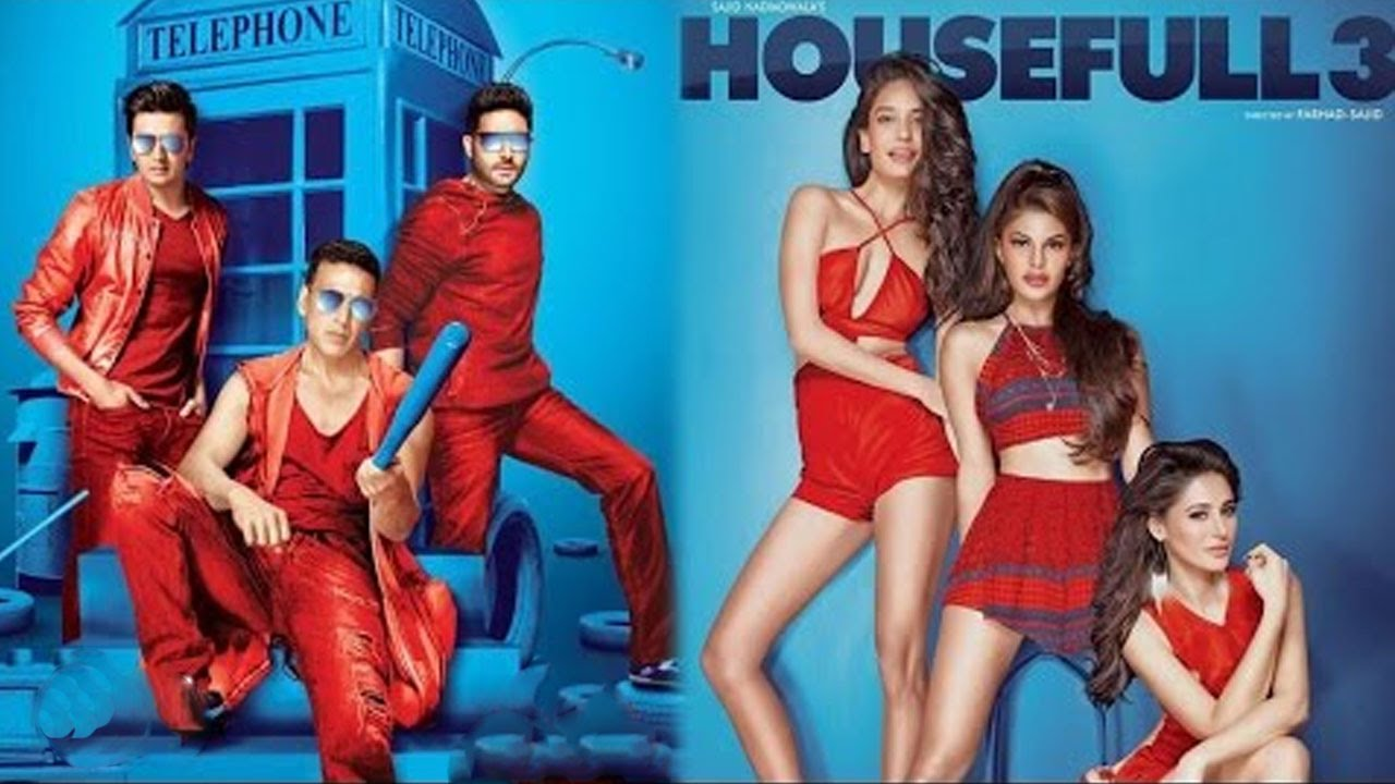 Housefull 3 Full Movie Review Akshay Kumar Abhishek Riteish