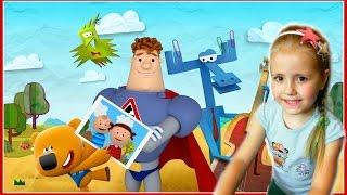 Бумажки Интерактивный Мульт Детская Обучающая и Развивающая игра на Андройд - IMAC Android Gameplay