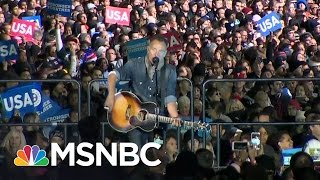 Bruce Springsteen Rails Against Donald Trump At Rally | MSNBC