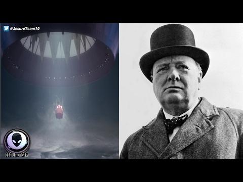 """LOST"" Winston Churchill Essay On Aliens Discovered! 2/16/17"
