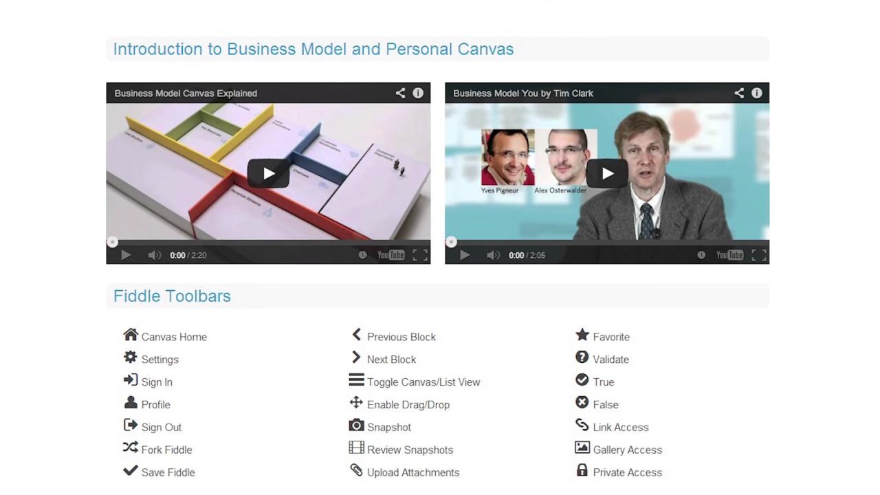 الأدوات المساعدة -  بناء نموذج عمل   et3alem.com