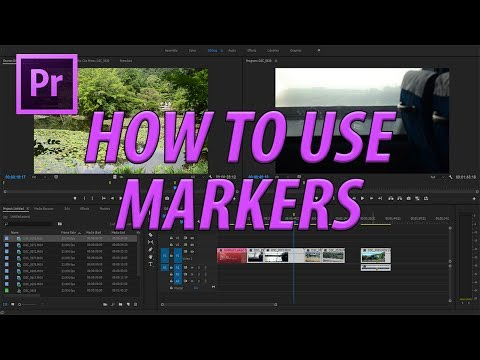 How to Use Markers in Premiere Pro CC (2017)