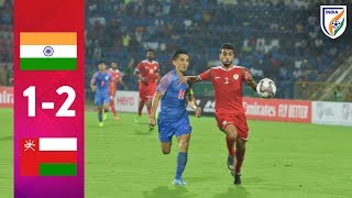 FIFA WCQ & Asian Qualifiers: India 1-2 Oman | Match Highlights