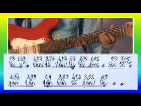 GUITAR: KA Đão ngũ cung câu 10-11-12 (tập 3)