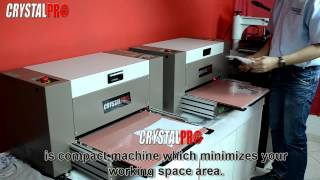 Automatic Rhinestone Machine for t-shirt / t shirt / garments transfer - Crystal Pro