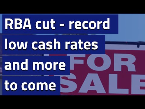 The RBA cuts to record low - more to come?